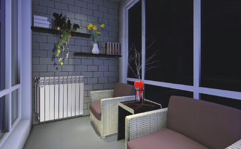 Алюминиевый радиатор ASB в интерьере
