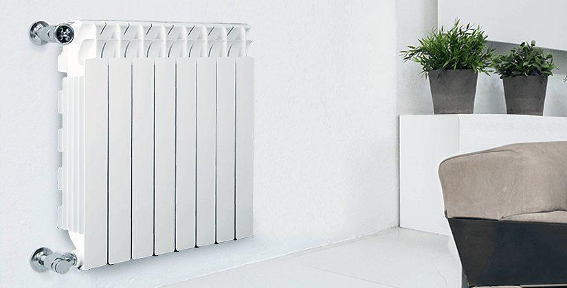 Алюминиевый радиатор Fondital Calidor Super в интерьере