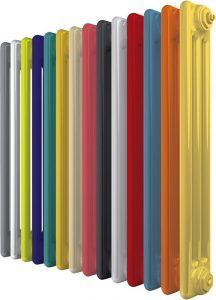 Цветной трубчатый радиатор