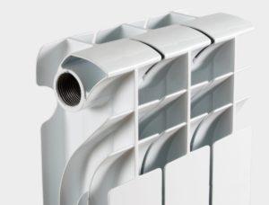 алюминиевый радиатор НРЗ 3 секции